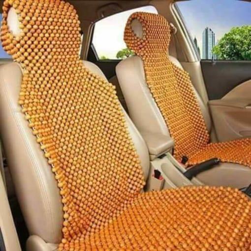 Đệm hạt gỗ ô tô