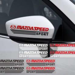 Tem dán Mazda Speed
