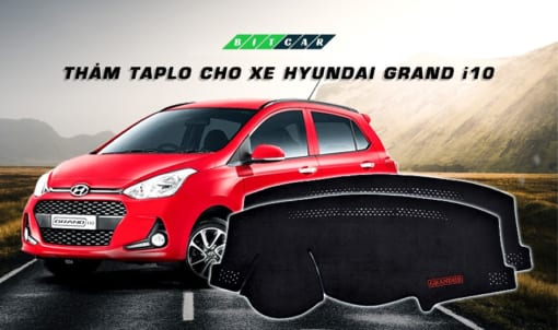 Thảm Taplo xe Hyundai Grand i10 8