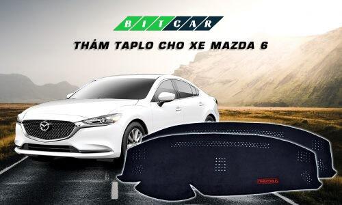 Thảm nhung taplo Mazda 6