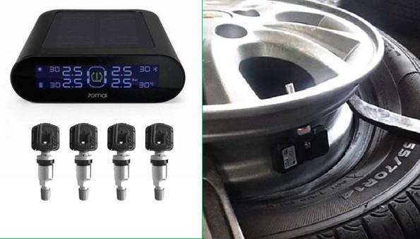 Phụ kiện cảm biến áp suất lốp cho xe mới