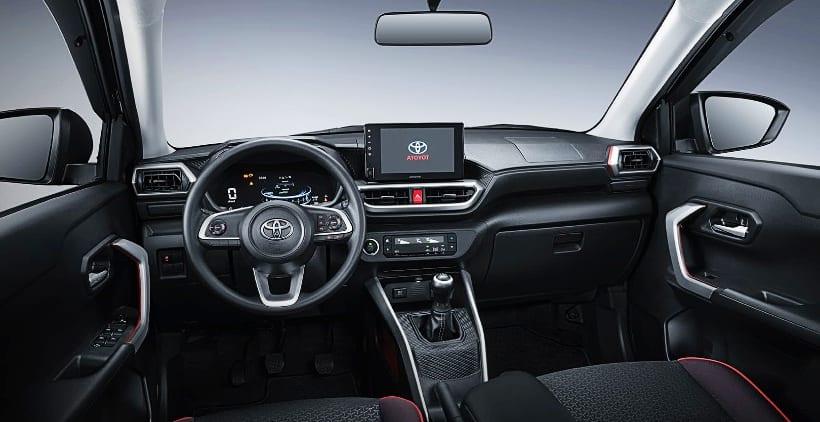 Nội thất Toyota Raize